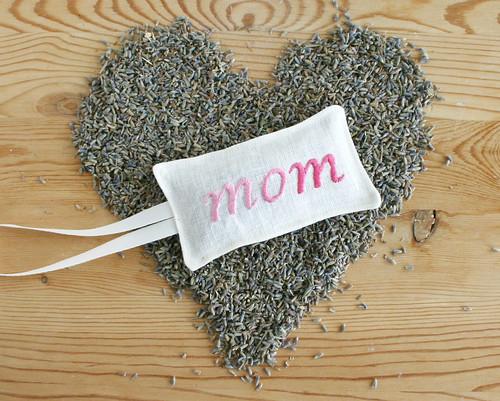 mother's day lavender sachet