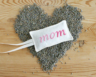 mother's day lavender sachet