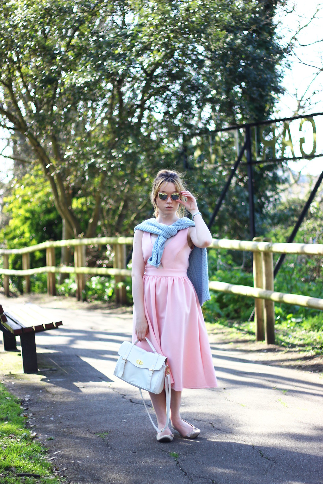 4pasteloutfit, pastel, asos, pink, blue, spring, summer, 2014, trend, fashion, style, retro, cat-eye sunglasses, knitwear, 50's, vintage, inspired, high street, personal style, stylepeaches, blog, outfit, look