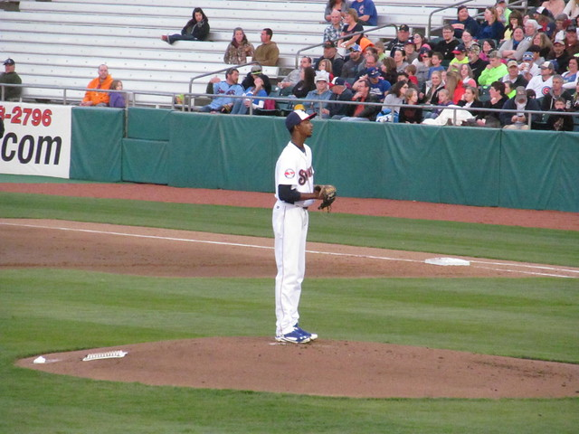 Chattanooga Lookouts vs. Tennessee Smokies - April 9, 2014 from Flickr via Wylio