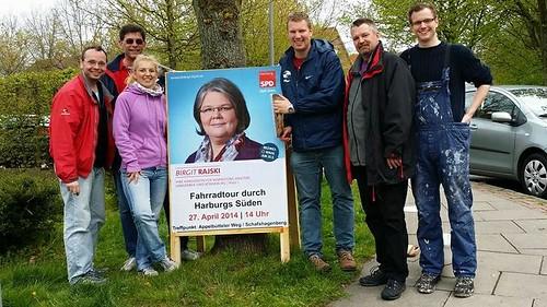 Kandidatinnen und Kandidaten jetzt sichtbar in Langenbek, Marmstorf, Sinstorf und Rönneburg