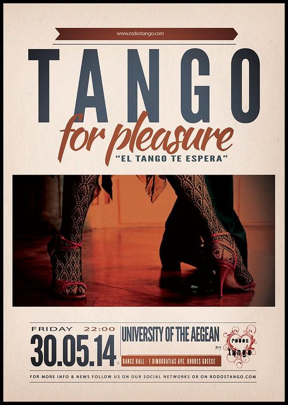 30 Μαΐου 2014 - Βραδιά αργεντίνικου τάνγκο στην Αίθουσα Χορού του Πανεπιστημίου Αιγαίου