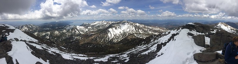 Lake Tahoe from the top of Mt. Rose