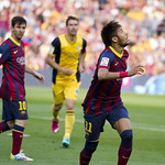 Neymar Looking For The Ball