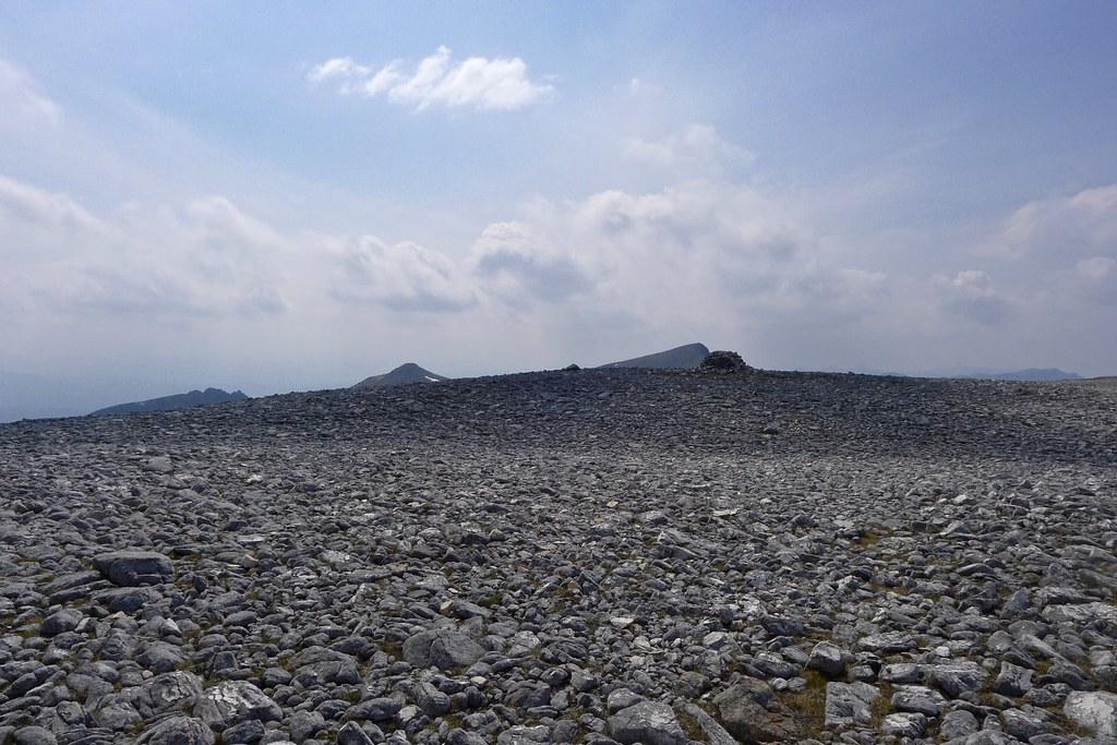 Sgurr Ban summit plateau
