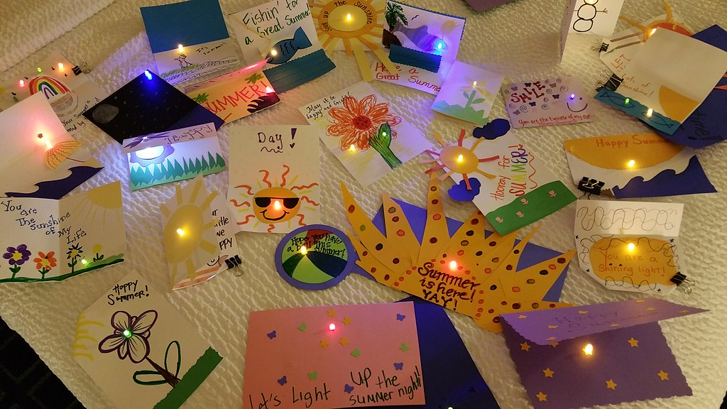 Workshop - Light-Up Cards at MICON15