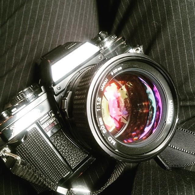 MINOLTA MD 50mm f1.2出擊!!