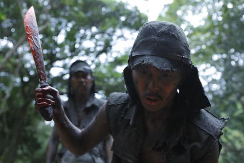映画『野火』より © Shinya Tsukamoto/海獣シアター