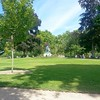 Oh the green! At Luxembourg gardens. #Paris And what a beautiful sky today. #blessed
