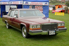 automobile, automotive exterior, vehicle, cadillac brougham, full-size car, antique car, sedan, classic car, land vehicle, luxury vehicle,