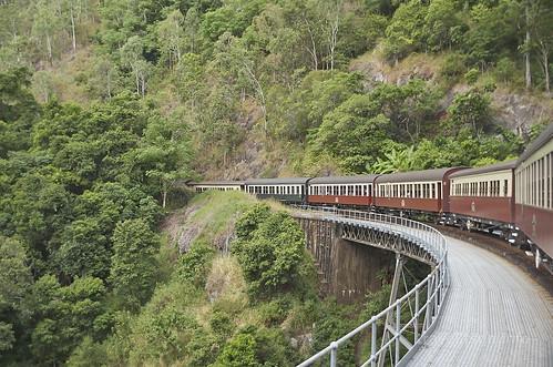【写真】世界一周 : 高原列車