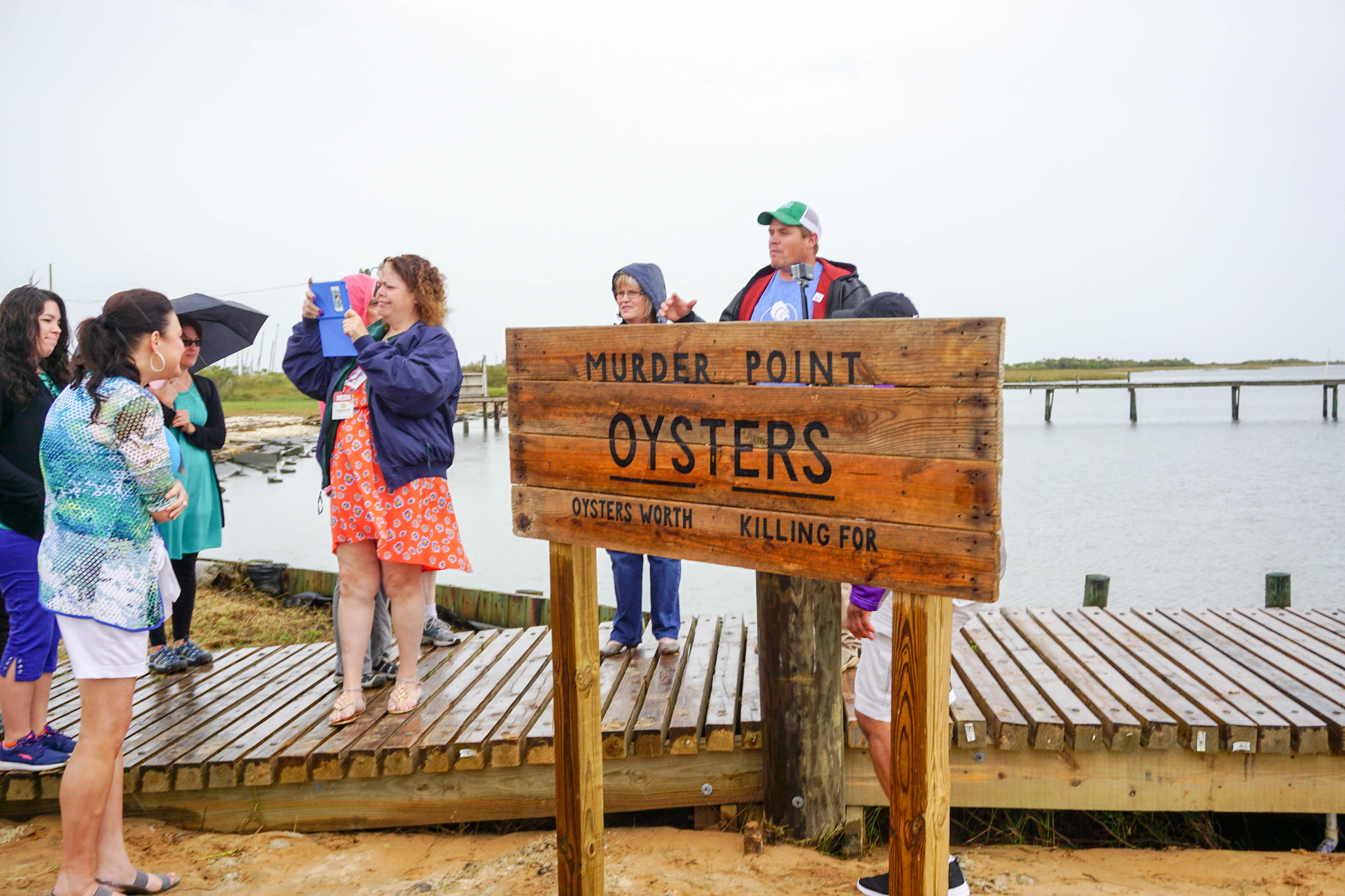Murder Point Oyster Farm in Bayou la Batre, Ala., during - World Food Championships Blogger Summit, Orange Beach, Ala., Nov. 7 - 9, 2016