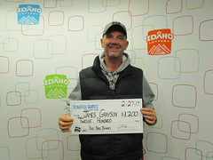 James Grayson - $1,200 - Big Bad Bingo - Boise - Stinker Store