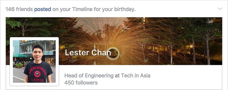 Facebook - Birthday Greetings