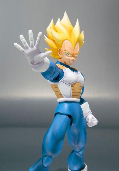Action figure Vegeta Super Saiyan SHF (Chính hãng) - Dragon Ball