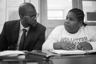 February 2, 2017 Chancellor Antwan Wilson at Sousa Jr. High School