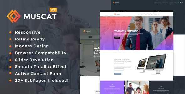 Muscat WordPress Theme free download