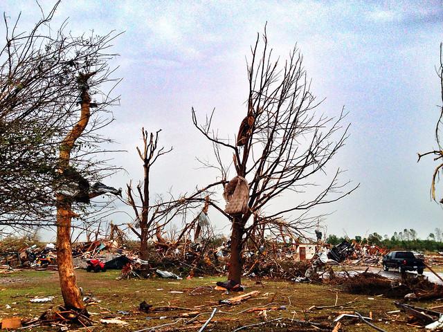 Moore, Okla., tornado destruction