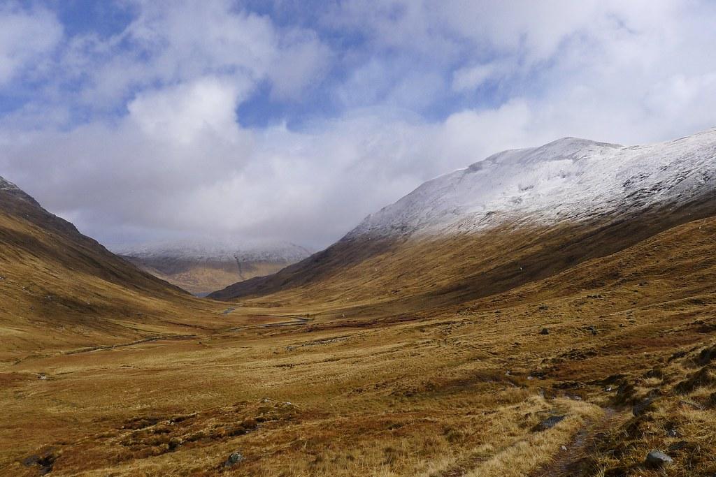 Beinn Fionndlaidh and Gleann a' Choilich