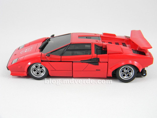 Transformers Sideswipe Masterpiece - modo alterno