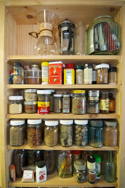 my spice storage