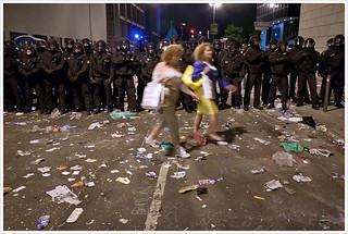 Blockupy 2013 - difficult travel