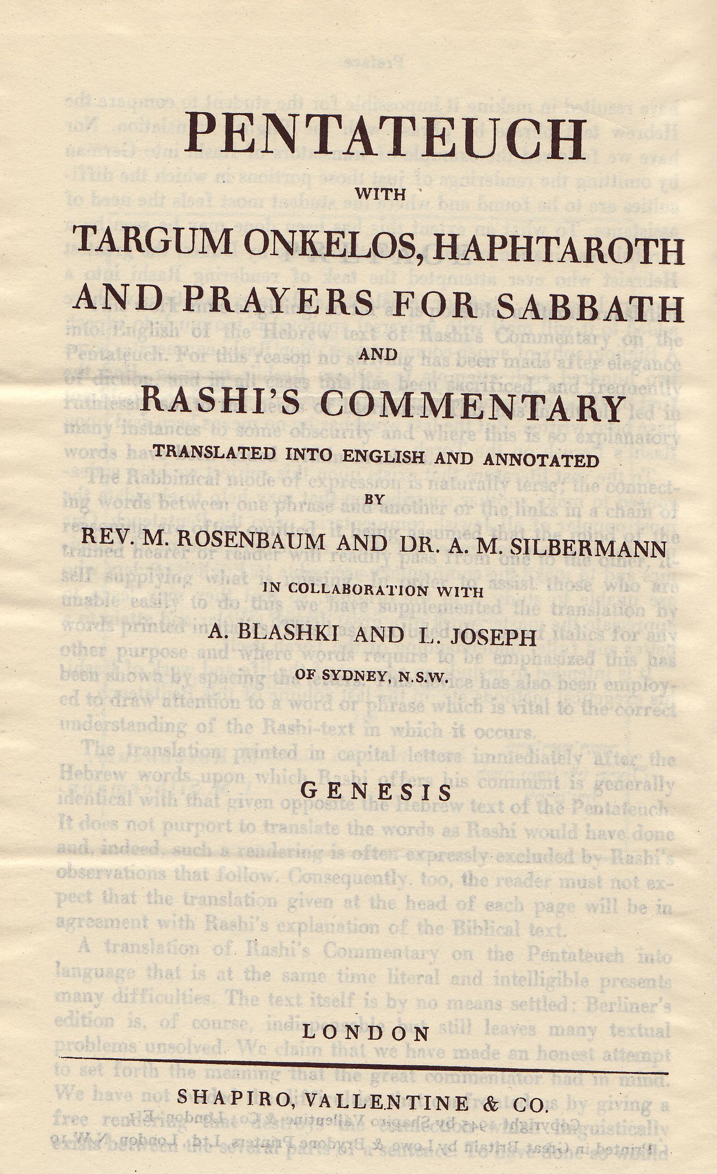 Rosenbaum And Silbermann Internet Bible Catalog