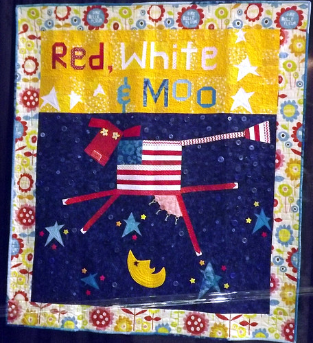 IQF Chicago 2013 - Red, White & Moo by Melanie Mcfarland