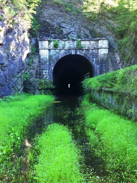 Paw Paw Tunnel - west portal