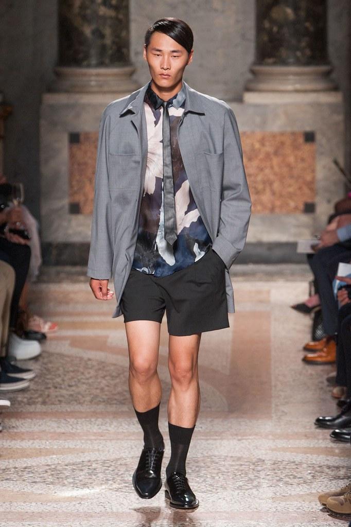 SS14 Milan Les Hommes003_Li Zhen(fashionising.com)
