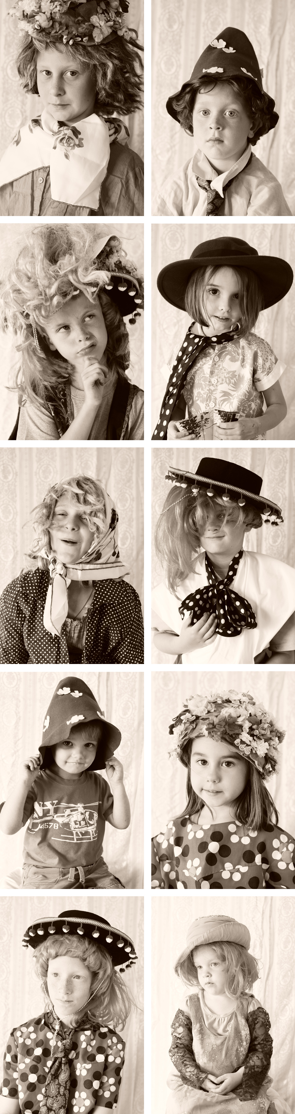 kid's dress-up photo-booth