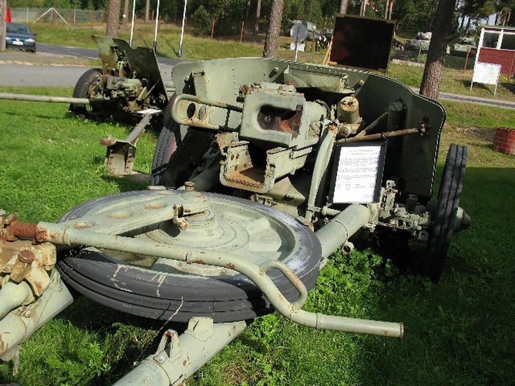 German 50 Mm Anti Tank Gun: Photographies