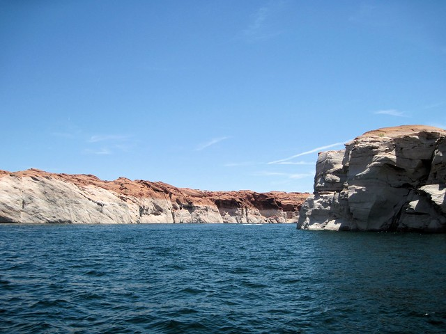 Lake Powell - Entering Navajo Canyon 20130621