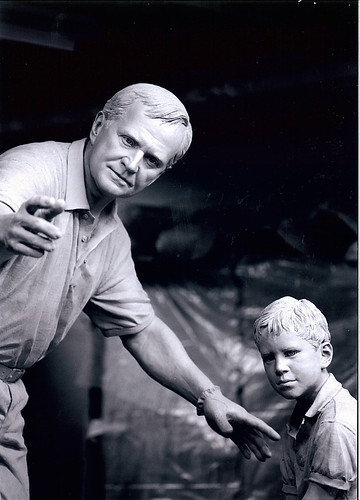 Jack Nicklaus tribute sculpture
