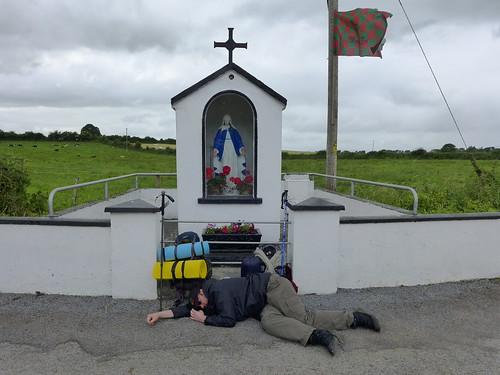 exhausted pilgrim