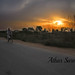 great Sunset..low by Athar Saroia