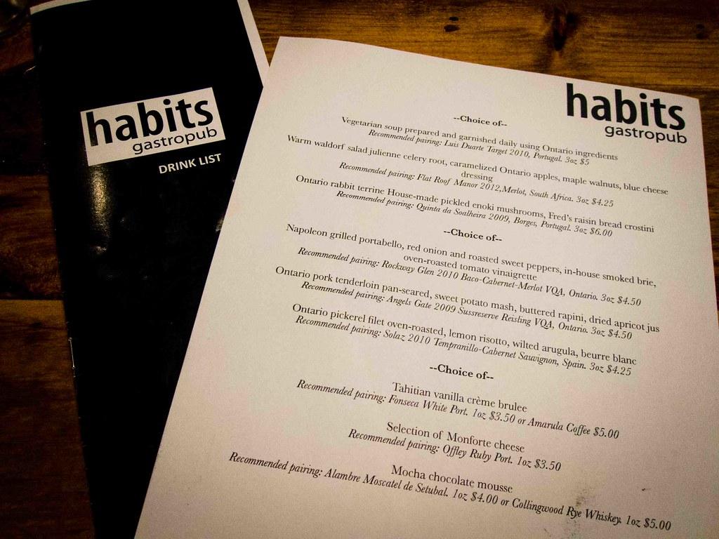 Habits-Gastropub