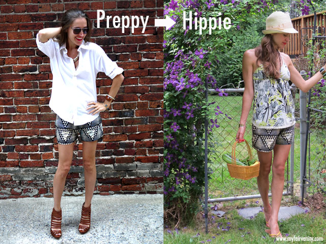 one mango tree, ikat shorts, fair trade, eco-friendly style blog