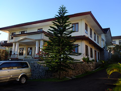 The convent we stayed in