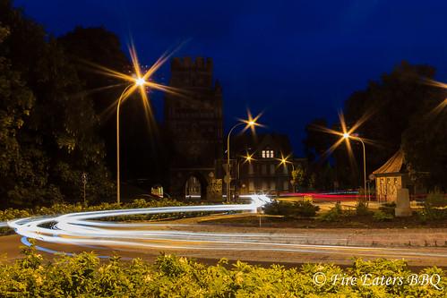 Uenglinger Tor bei Nacht