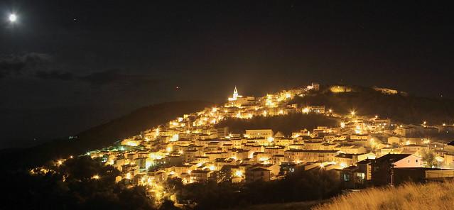 Castiglione Messer Marino - CH- by night