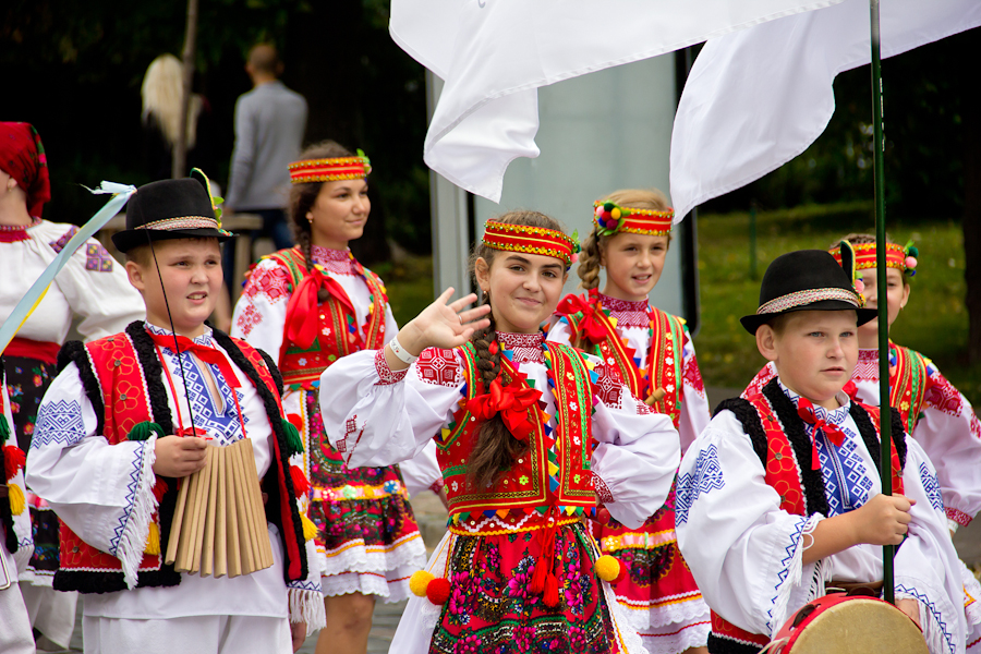 Парад вишиванок до 22-ї річниці незалежності України