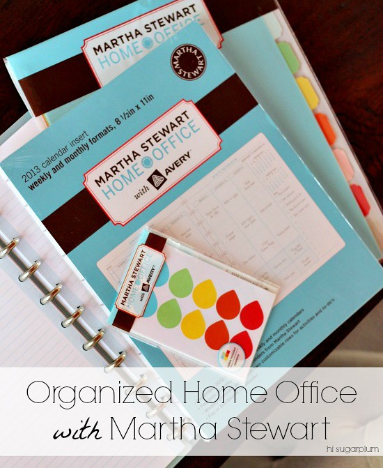 Hi Sugarplum | Organize with Martha Stewart