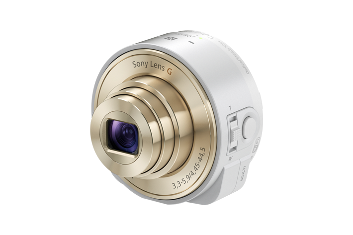 Sony QX Lens – Smartphone Attachable Lens-Style Cameras