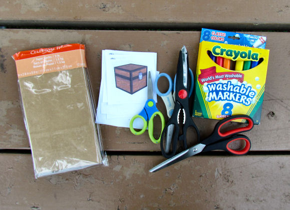 Minecraft Party Gift Bag Supplies
