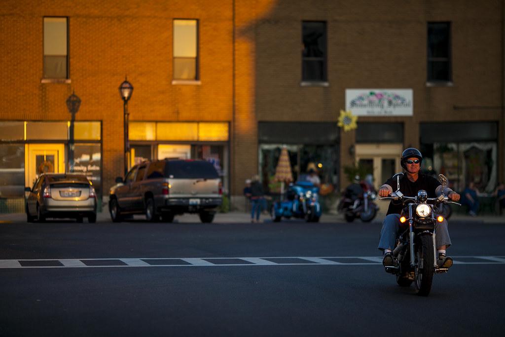 Ride to Bike Night
