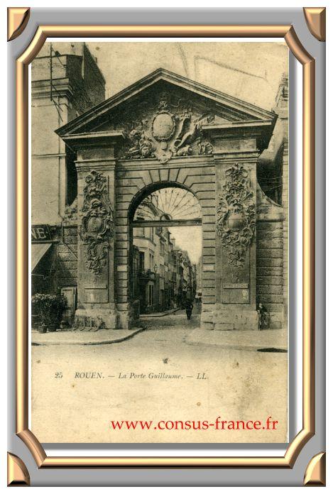 25  ROUEN. - La Porte Guillaume. - LL._25-70-150