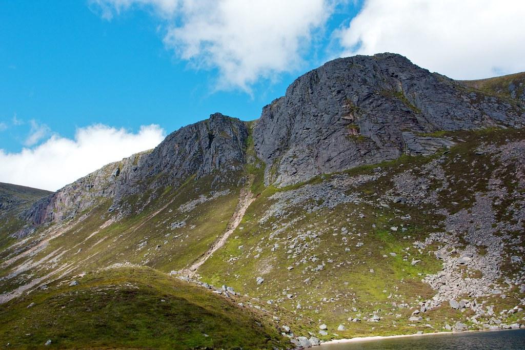 Crags above Loch Avon