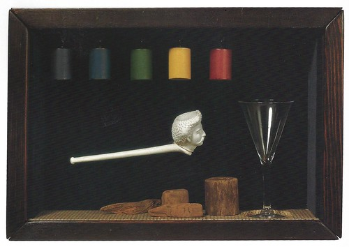 Joseph Cornell, Soap Bubble Set- Object, 1947-1952