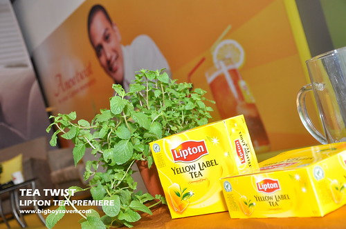 TEA TWIST Lipton Tea Premiere 6